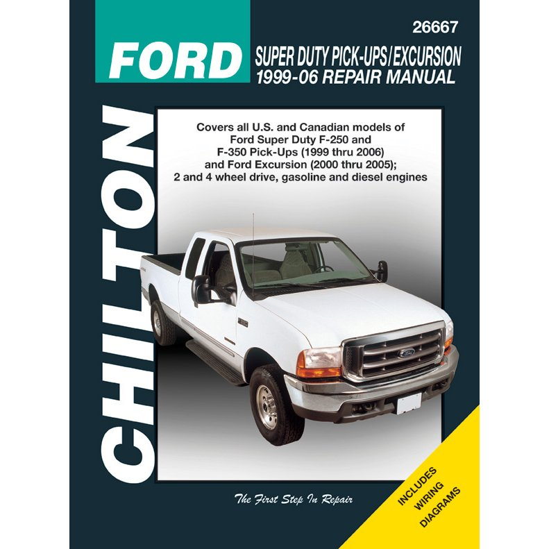 chilton repair manual new f250 truck f350 e450 van